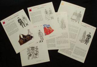 Book Polish Folk Costume Regional Styles Ethnic Fashion Sewing Clothing Poland