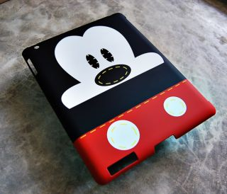 Mickey Mouse iPad 2 Case Cover Original Walt Disney Smart Cover Back Hard Snap