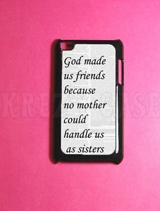 Best Friend iPod Touch 4 Case 4th Gen iPod Cases