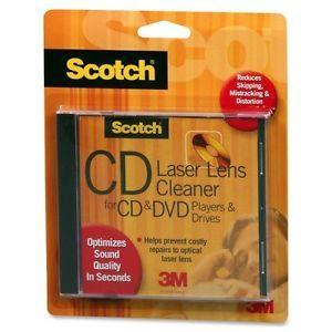 Scotch CD DVD Laser Lens Cleaner AV101