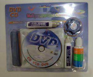 Multi Purpose Six in One DVD CD R CD R DVD R DVD R VCD CD Laser Lens Cleaner