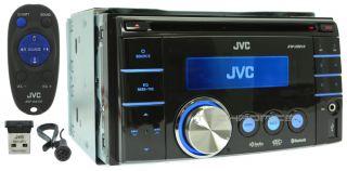 JVC KW XR810 2yr Wrnty CD  USB Bluetooth Car Audio Stereo Player Receiver 368298566494