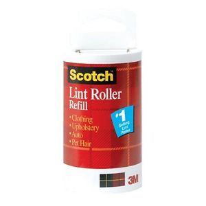 3M Scotch Lint Roller Refill 56 Sheets 3 Pack
