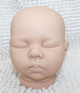 "Reborn Baby Doll Kits for 20"" Baby Dolls Handmade Silicon Vinyl Doll Kits Parts"