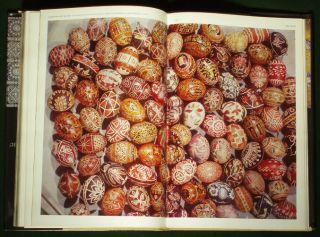 Book Ukrainian Folk Art Costume Pottery Embroidery Printed Cloth Porcelain Eggs