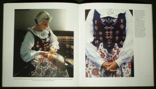 Book Swedish Folk Costume Ethnic Clothing Scandinavia Drakt Fashion Embroidery