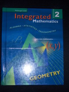 McDougal Littell Mathematic Geometry Math 10th Grade 10