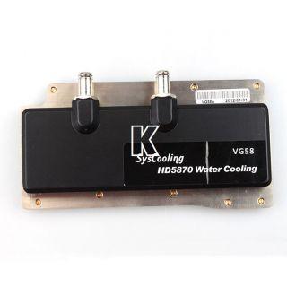 Heatsink Liquid Water Cooling Graphics Cooled Head for ATI5870 6950 6970 AMD3