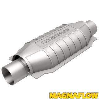 """Magnaflow 99209HM Universal High-Flow Catalytic Converter Round 3/"""" In//Out OBDII"""