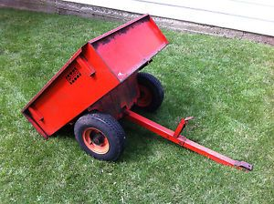 Case E60 Dump Cart Lawn Garden Tractor Trailer All Original Complete Chicago