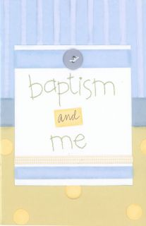 Boys Baptism Me Small Baptism Pamphlet Book