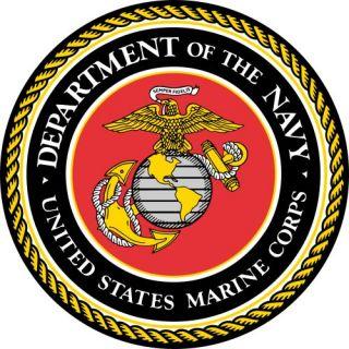 US Marine Corps Emblem on Sweatshirt sweat Shirt