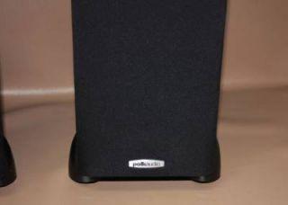 Polk Audio TSI300 Tower Floor Standing Speaker Set Black 6040 747192114947