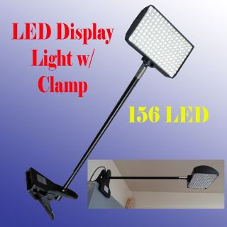 LED Display Light with Clamp Las Vegas Approved 156 LED Trade Show Booth