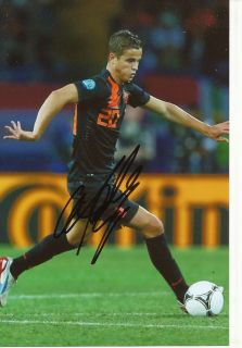Ibrahim Afellay Holland Nationalteam Foto Mit Unterschrift 144822 Mik
