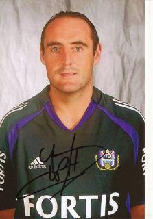 Yves Vanderhaeghe RSC Anderlecht Foto Mit Unterschrift 145356 Mik