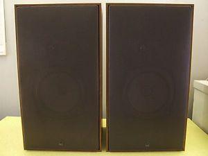 Vintage Pair of Ads A D s L520 Large Bookshelf Speakers Hi Fi Loudspeakers USA