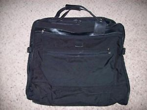 Vintage Hartmann Nylon Garment Folding Black Clothes Travel Luggage Bag Pack