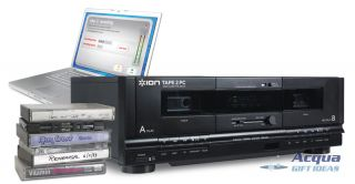 USB Dual Cassette Deck Transfer Cassette Tapes to  CD PC Mac New