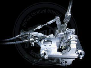 K Tuned K Series Race Spec Shifter Cables w Trans Bracket RSX Civic K Swap K20