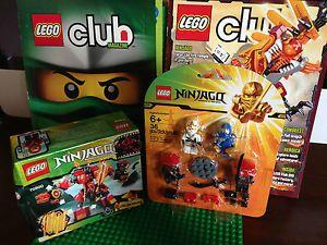 Lego 70500 850632 Ninjago Lot Lego Club Magazines