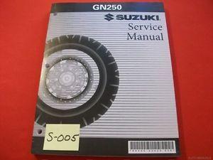 Suzuki GN250 GN 250 Original Factory Service Manual