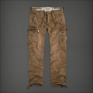 Abercrombie Fitch AF Slim Straight Cargo Pants 32x30