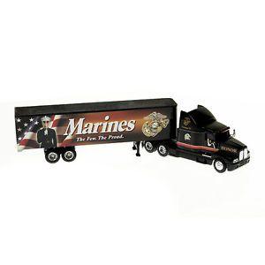 """Marine Corps USMC """"Honor"""" Scale 1 64 Semi Truck Tractor Trailer"""