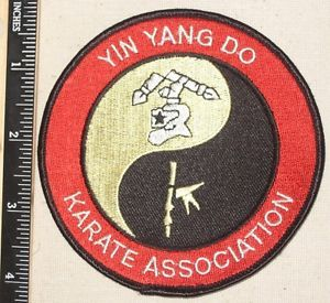 Yin Yang do Karate Association Patch Martial Arts