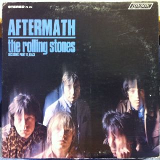 The Rolling Stones Aftermath LP Mint PS 476 USA Stereo 1966 Record