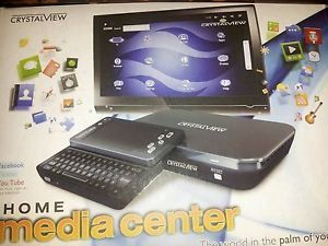 Google Android Smart TV Media Center with HDMI Crystalview QWERTY Keyboard