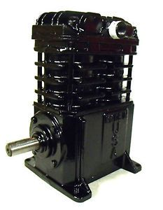 Replacement Air Compressor Pump Twin Cylinder American Made Cast Iron