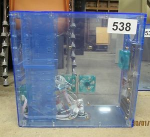 Clear Blue Computer Tower Case