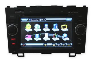 In Dash Head Unit DVD Navigation GPS Bluetooth for Honda CRV 2007 08 09 2010 11