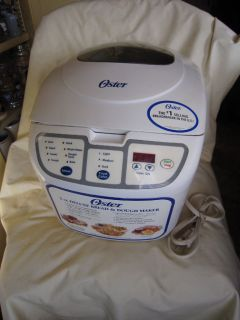 oster bread machine 5848 manual