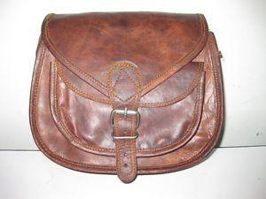 Gypsy Style Leather Purse Handbag Clutch Camera Book Bag Travel Bag Women Ladies
