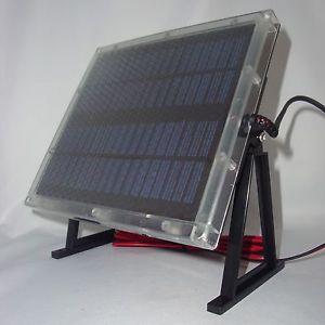 Deer Feeder Solar Panel