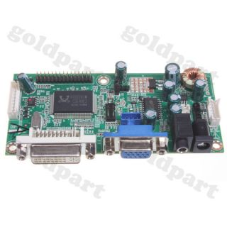 "DVI VGA GM5621 Universal LVDS LCD Display Driver Controller Board for 13"" 22"""