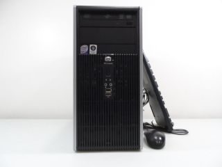 HP Quad Core 2 33GHz 4GB 1TB 64bit Keyboard Mouse CDR DVDR Windows 7 Pro DC5800