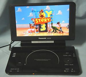 Panasonic DVD LS92 Portable 9 inch DVD Player Widescreen Battery Only Read