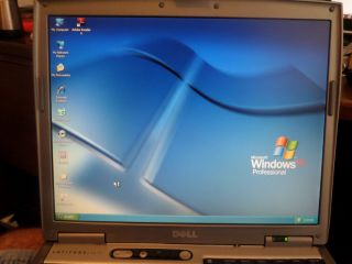 Great Dell D610 60GB Fresh XP Operating System Power DVD Wireless
