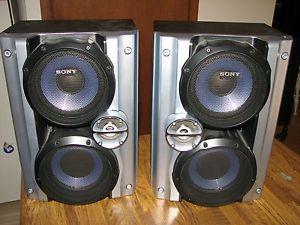 Sony SS RG444 Speaker Audio Sony Stereo Sound System MHC GX750 Home Theatre