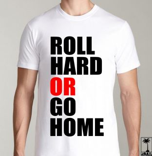 Roll Hard EDM EDC Hardfest Rave Concert DJ Club Dubstep Electro House T Shirt