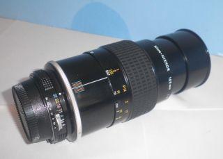 Nikon Micro Nikkor 105mm F1 4 Camera Lens F4