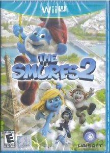 Brand New SEALED The Smurfs 2 Video Game Nintendo Wii U