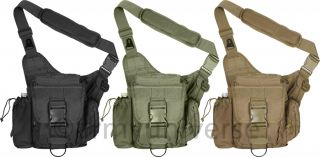 Lightweight MOLLE Polyester Advanced Tactical Travel Shoulder Bag