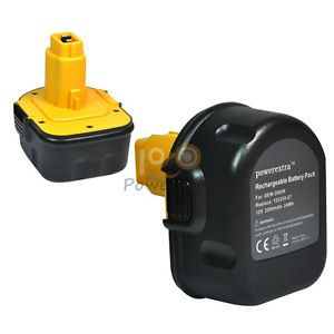 Power Tool Battery for Dewalt DW9071 DC9071 DW9072 2802K Ni CD 12V 2000mAh New