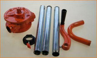 Rotary Hand Diesel Fuel Oil Drum Barrel Self Priming Pump Cranked Pipe 481304A