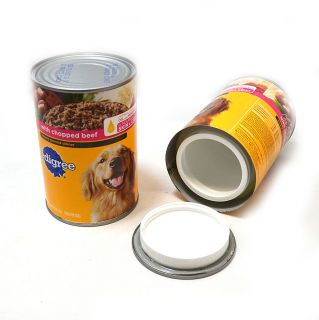 2 Two Fake Pedigree Dog Food 22 oz Can Safes Secret Hidden Diversion Stash Dummy