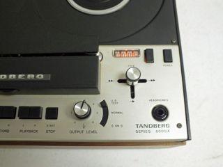 Vintage Tandberg 6000X Reel to Reel Tape Recorder Audio Recording Equipment